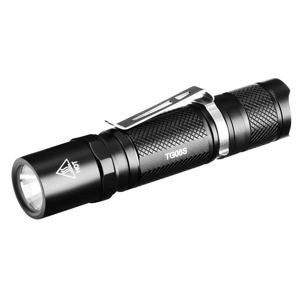 ThorFire TG06S MiniUpgraded  Flashlight, 500LM, Powered By One AA or 14500 Battery