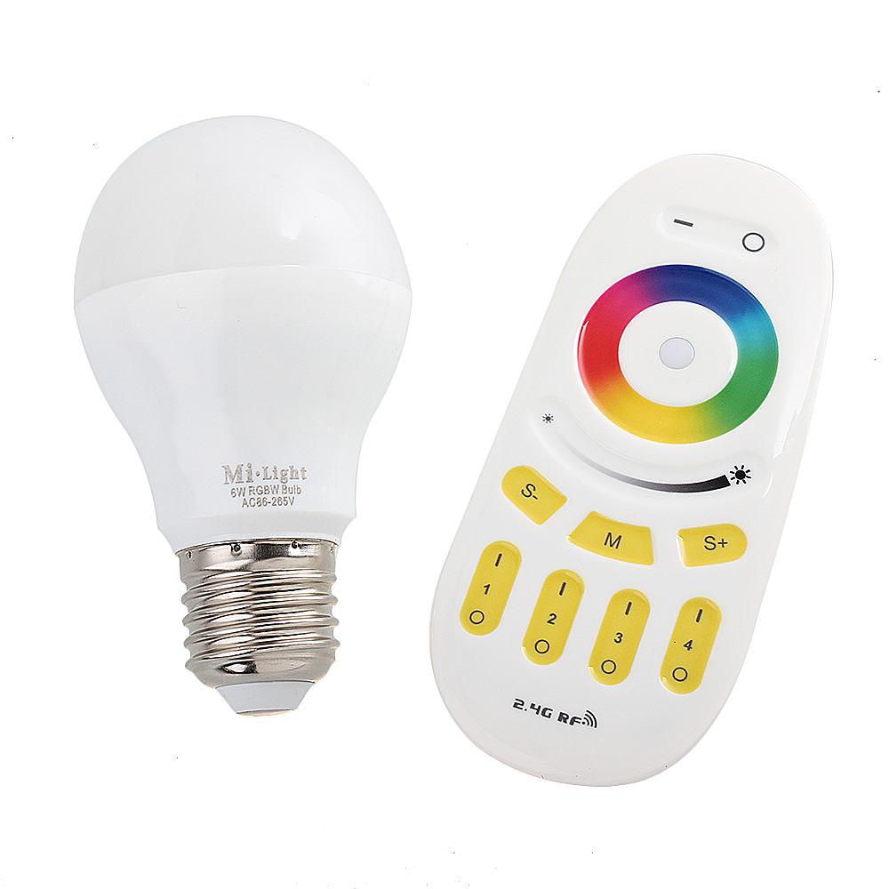 thorfire touch remote control color changing led blulb rgbw dimmable