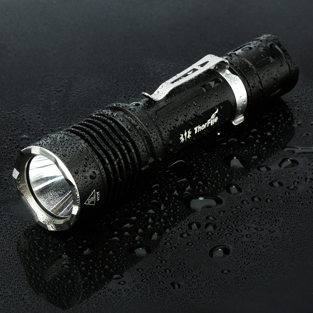 ThorFire VG10S Tactical Flashlight, 1100 Lumen ,XPL2 Led Light ,with 5 Modes