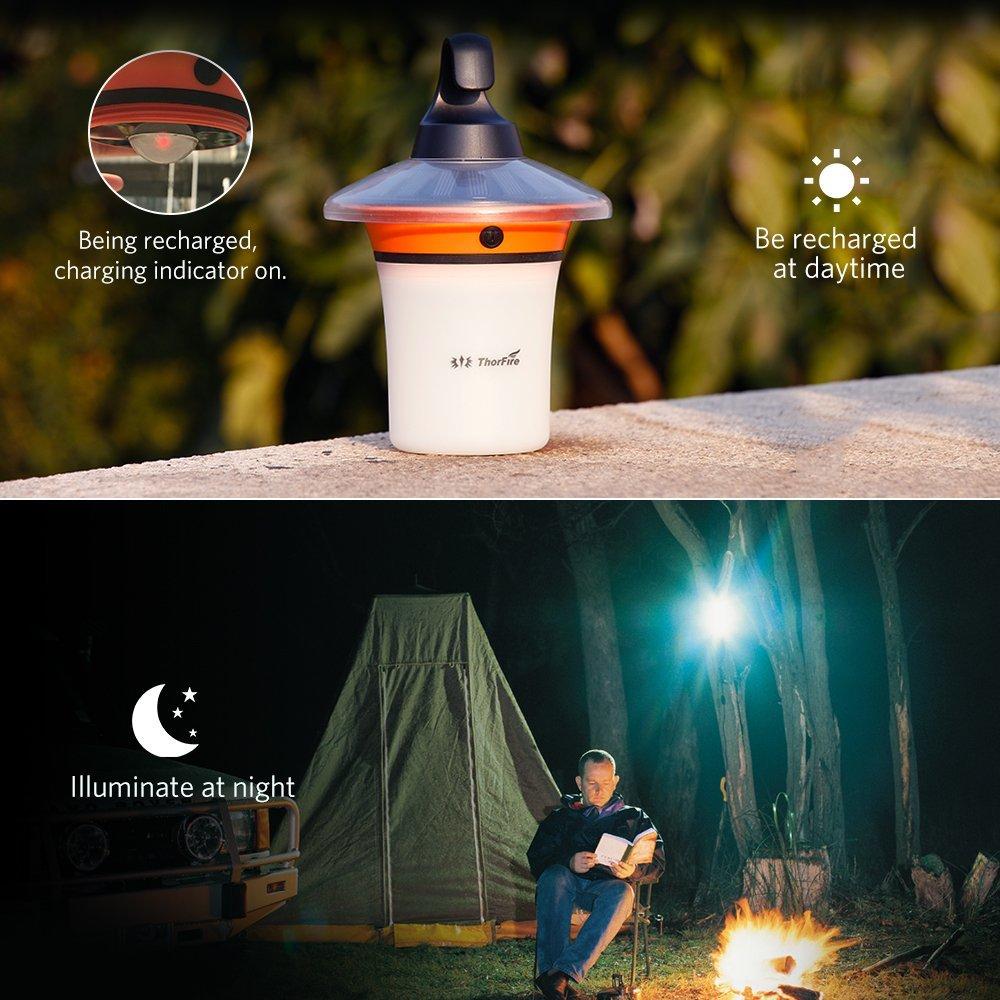 Thorfire Solar Camping Light